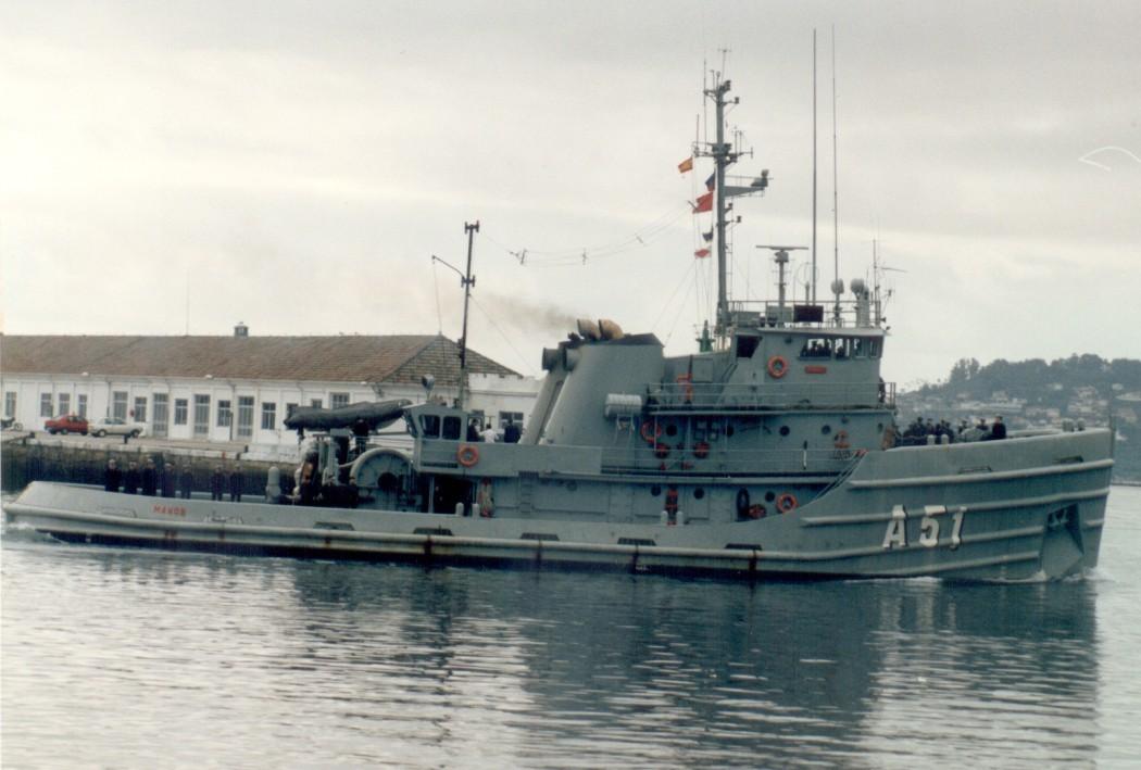 los barcos de guerra de eugenio